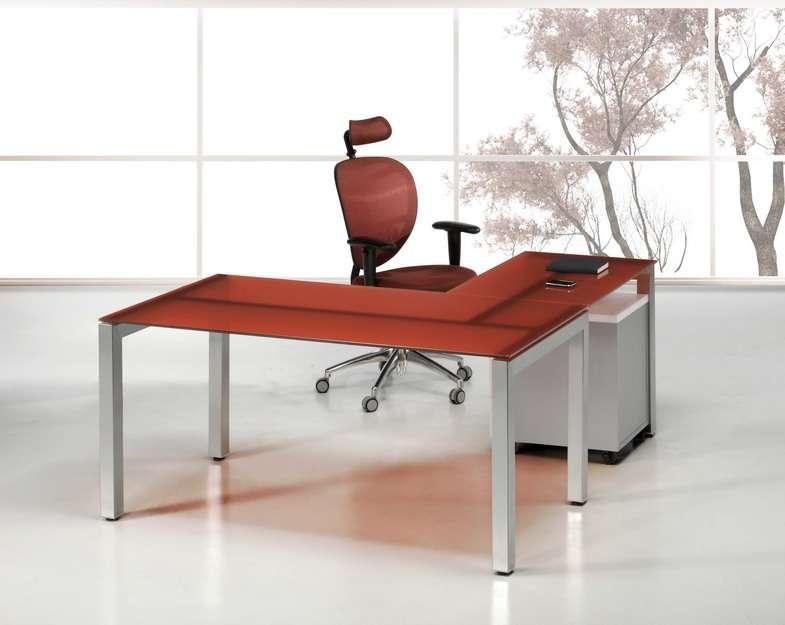 Mesas de despacho de cristal - Mesas de despacho ...